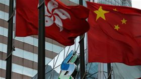 香港,區旗(圖/路透社/達志影像)