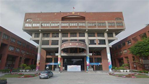 高雄中山大學。翻攝Google Map
