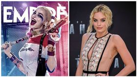 自殺突擊隊,小丑女,瑪格羅比,Margot Robbie 圖/翻攝自網路、達志影像