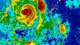 颱風、馬勒卡/中央氣象局