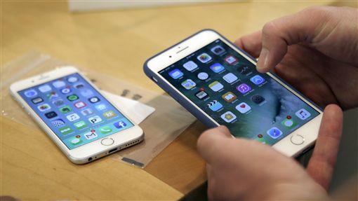 iPhone 7、iPhone、蘋果、愛瘋(圖/美聯社/達志影像)