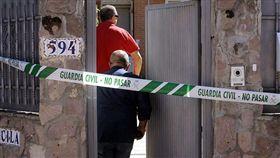 西班牙兇殺案(圖/翻攝自每日郵報)