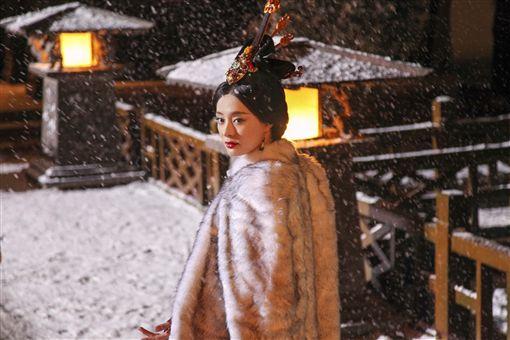 《羋月傳》劉濤、孫儷嗨玩女女吻/華視提供