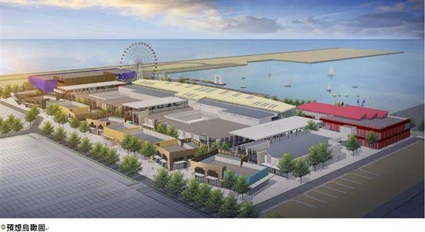 最強海港購物設施 三井OUTLET台中港2018開幕