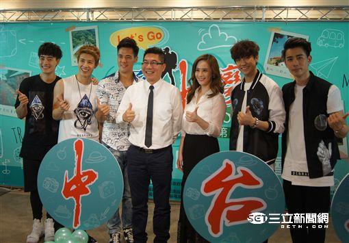 《勇闖中台灣》找來偶像男團Gentleman主持。