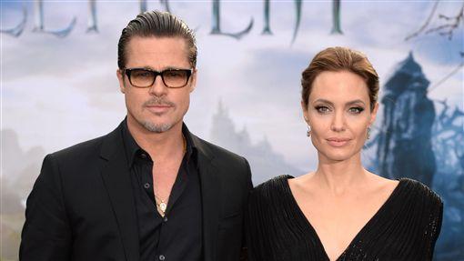 安潔莉娜裘莉,Angelina Jolie,布萊德彼特,Brad Pitt,離婚/達志影像/美聯社