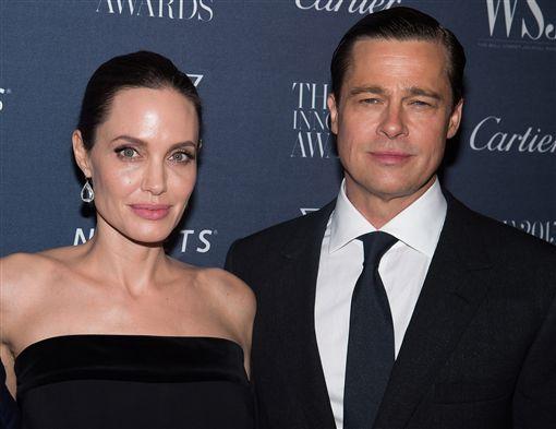 安潔莉娜裘莉,布萊德彼特,Brad Pitt,Angelina Jolie 圖/美聯社/達志影像