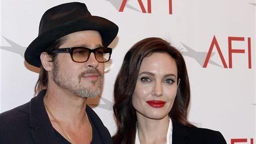 安潔莉娜裘莉,布萊德彼特,Brad Pitt,Angelina Jolie 圖/路透社/達志影像