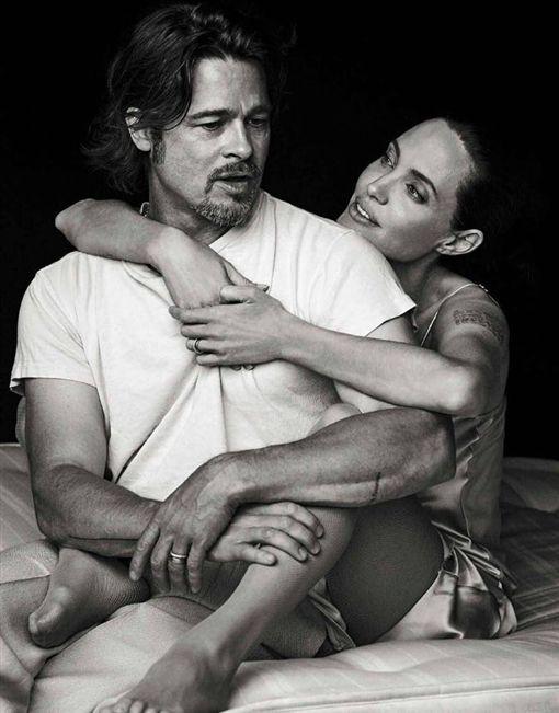 安潔莉娜裘莉、小布/Angelina Jolie.臉書