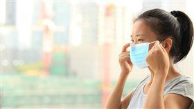 口罩,感冒,生病(圖/Shutterstock)