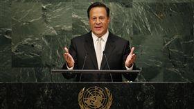 Juan Carlos Varela Rodriguez,巴拿馬,總統,聯合國,台灣 圖/路透社/達志影像