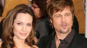 萊德彼特,Brad Pitt,和安潔莉娜裘莉,Angelina Jolie,離婚/達志影像/美聯社