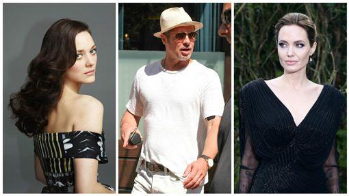 安潔莉娜裘莉(Angelina Jolie)布萊德彼特(Brad Pitt)瑪莉詠柯蒂亞(Marion Cotillard)圖/達志