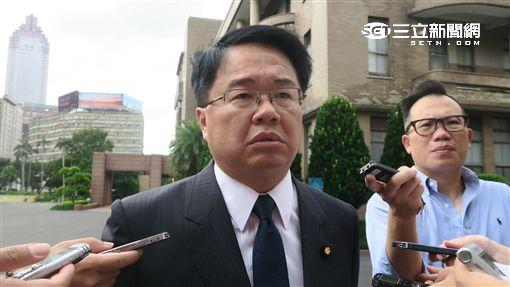 民進黨立院黨團幹事長吳秉叡。(記者盧素梅攝)