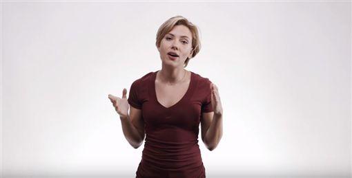 鋼鐵人黑寡婦號召選民投票。(圖/翻攝自YouTube)