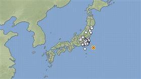 日本關東外海地震_日本氣象廳