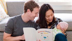 臉書創辦人祖克柏夫婦(圖/翻攝自Mark Zuckerberg臉書)
