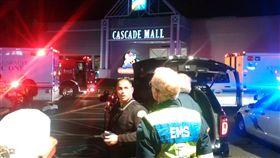 Cascade Mall,槍擊案,美國,華盛頓 圖/路透社/達志影像