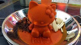 Hello Kitty火鍋(圖/翻攝自今日重慶微博)