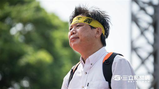凱道,反迫遷,抗議,拆遷,徐世榮 圖/記者林敬旻攝