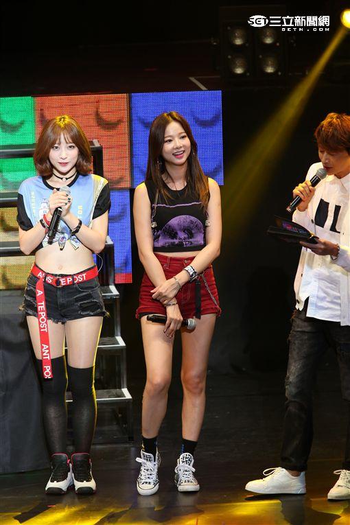 韓女團EXID二度來台舉辦見面會,辣秀性感舞蹈嗨翻全場粉絲