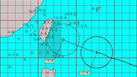 颱風、0926衛星雲圖/彭啟明臉書