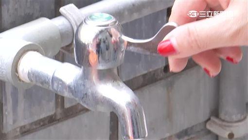 -停水-水龍頭-水費-自來水-