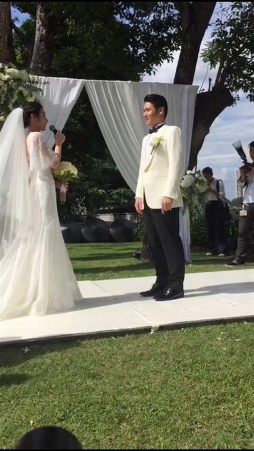 陳怡蓉、薛博仁婚禮 圖/明悅整合行銷提供