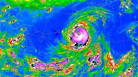 0927梅姬颱風衛星雲圖/中央氣象局