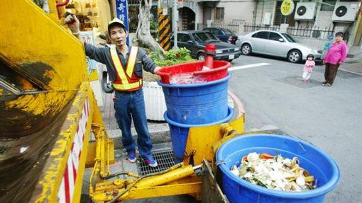 垃圾車 中央社