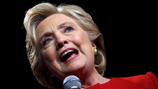 美國總統大選、川普、希拉蕊辯論(圖/路透社/達志影像)