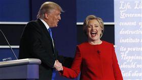 希拉蕊、川普、美國總統大選辯論(圖/路透社/達志影像)
