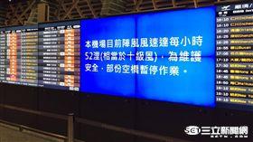 颱風天的空橋如何作業?桃園國際機場說給你聽!(圖/記者簡佑庭攝)