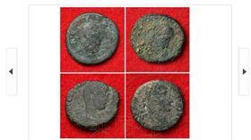 沖繩古城發現古羅馬錢幣(圖/共同社)