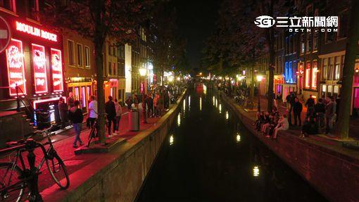 荷蘭阿姆斯特丹紅燈區。(圖/記者簡佑庭攝)