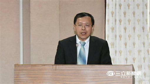 張天欽,陸委會副主委/記者林敬旻攝