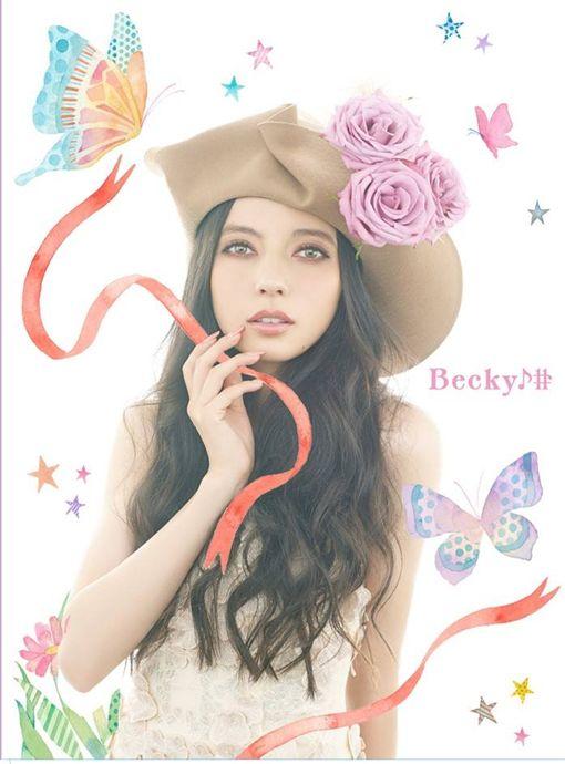 貝琪,小三,不倫,第三者,混血兒,ベッキ,Becky,日本女藝人 (ベッキー(Becky)臉書、網路)