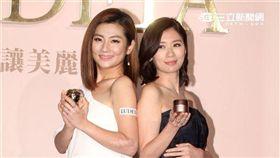 Selina任家萱、賈靜雯同台分享最美麗的年輕能量。(記者邱榮吉/攝影)
