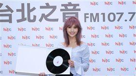 20160930 楊丞琳電台宣傳新專輯(圖/HitFM提供)