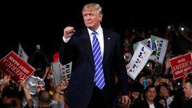 美國阻統候選人、川普(圖/路透社/達志影像)