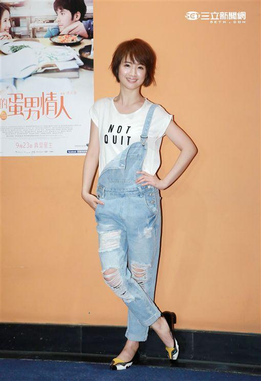 20161002-林依晨首度短髮造型出席  寬姊電影包場《我的蛋男情人》