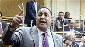 埃及國會議員阿吉納(Elhamy Agina)臉書