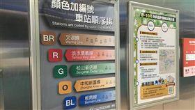 捷運啟動站名編號作業 5號板南線以後叫「BL板南線」