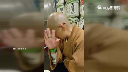 """民眾日本料理店直擊 比丘尼竟大口""""吃肉喝酒"""""""