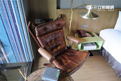 Home Hotel飯店與設計共眠。(圖/記者簡佑庭攝)