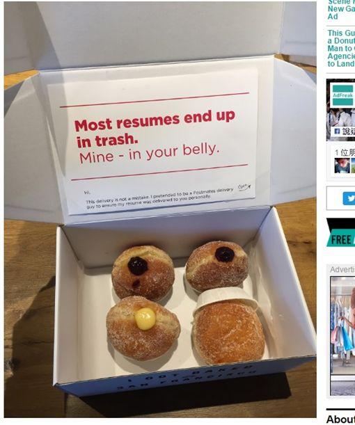 甜甜圈,履歷,求職/adweek
