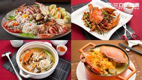 秋蟹季,螃蟹料理。(圖/公關照)