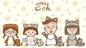 櫻桃小丸子貓咪版(圖/翻攝自Otajo網站) http://otajo.jp/65333