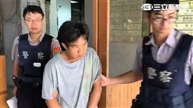 華男狂奔五百公尺障礙賽仍遭刑警逮捕(翻攝畫面)