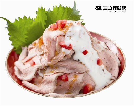 日本燒肉丼:玫瑰丼飯。(圖/公關照)